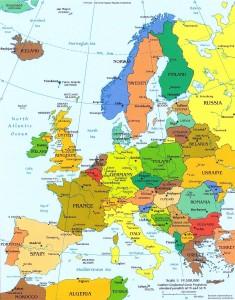 Mapa político-Europa-1
