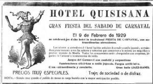 Anuncio-Baile-Carnaval-1929-Hotel Quisisana