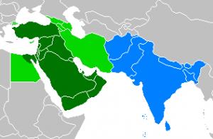 Mapa-Oriente Medio